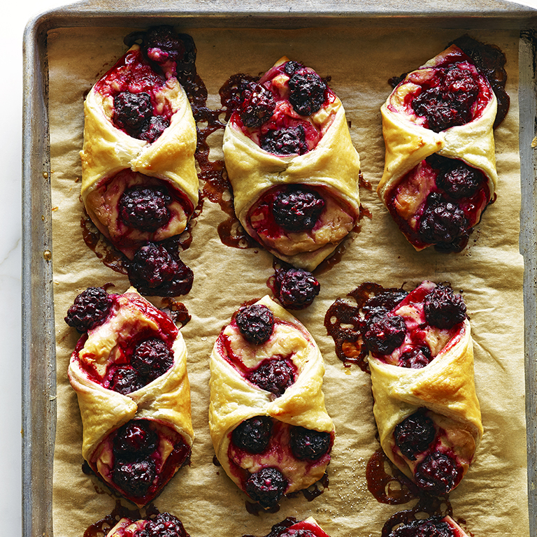 Boysenberry Danishes