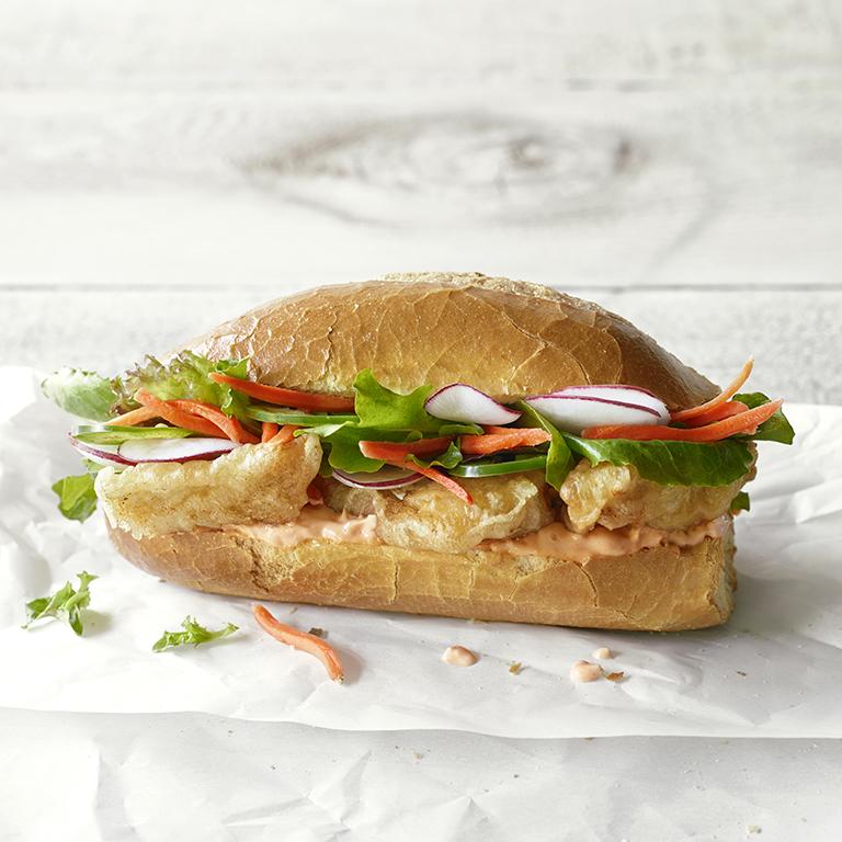 Crispy Cod Bánh Mì