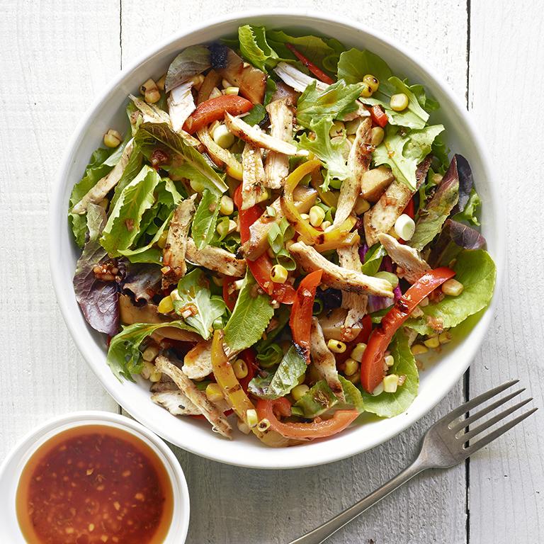 Quick Grilled Dinner Salad