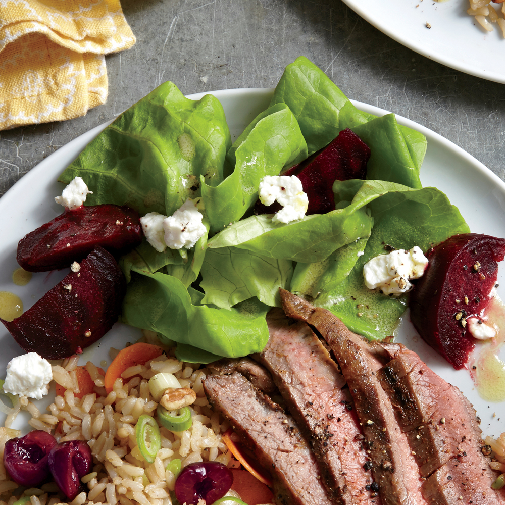 Butter Lettuce and Beet Salad