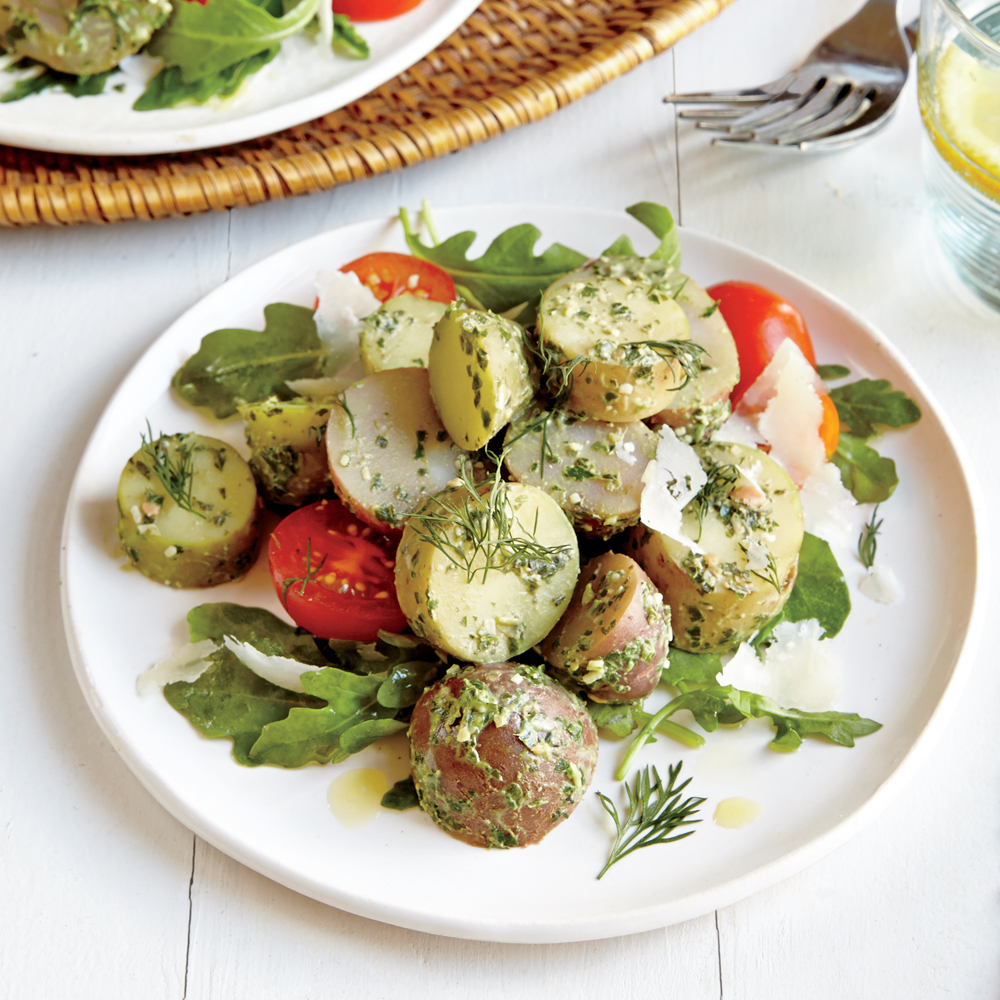 Pesto Potato Salad