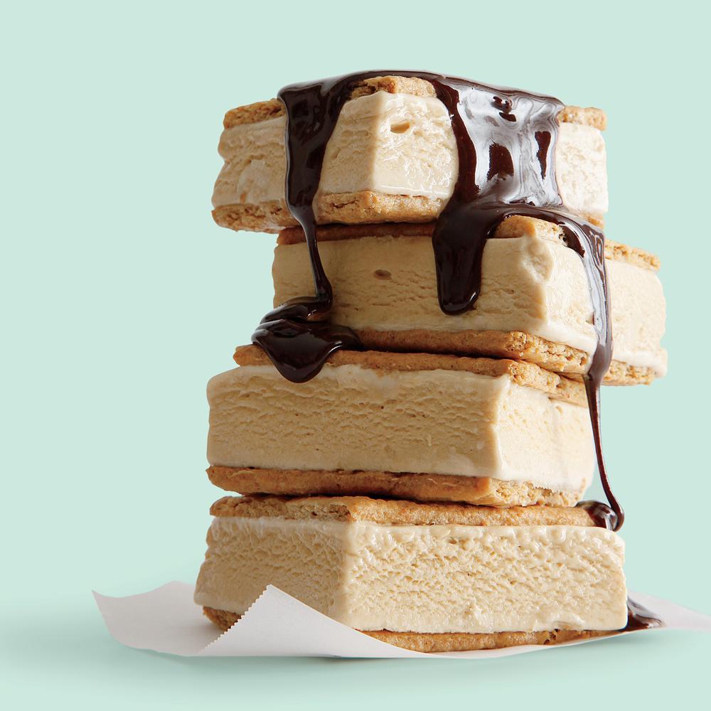 S'mores Ice-Cream Sandwiches
