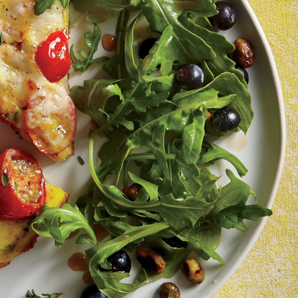 Arugula and Blueberry Salad