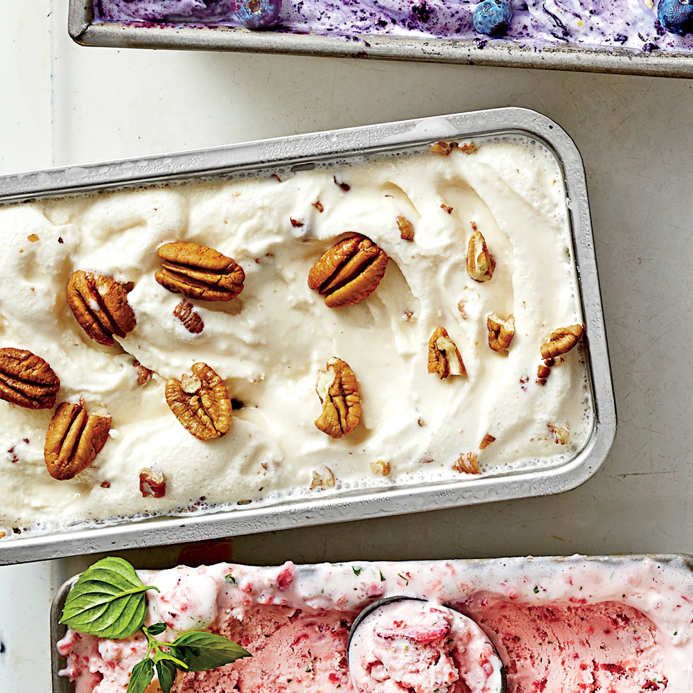 Bourbon-Butter-Salted Pecan Ice Cream
