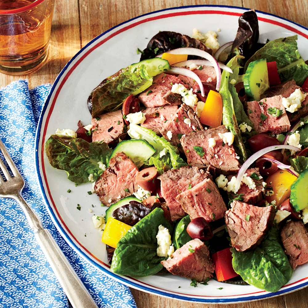 Chopped Salad With Steak Recipe