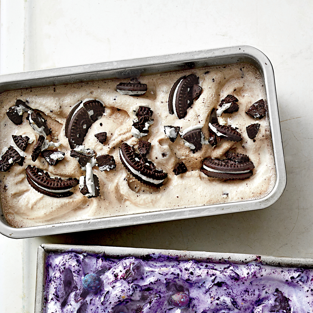 Coffee Liqueur Cookies-and-Cream Ice Cream