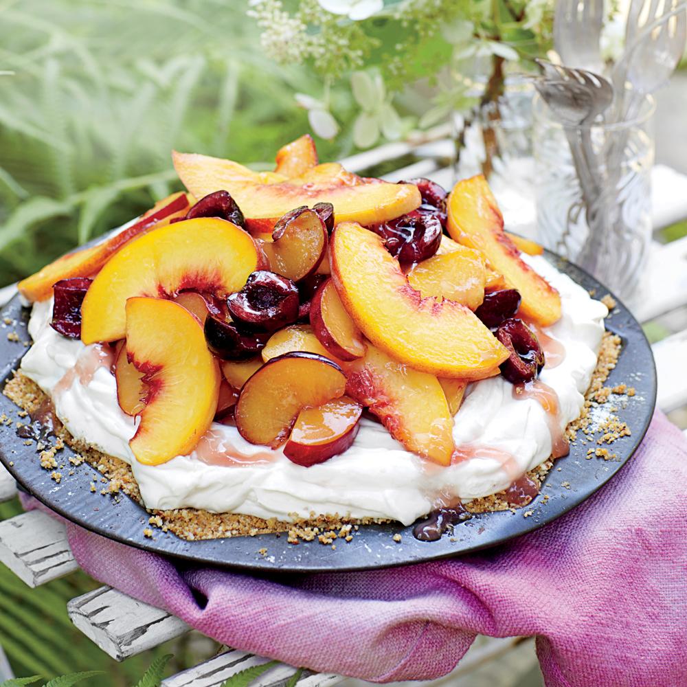 Mixed Stone Fruit Pie