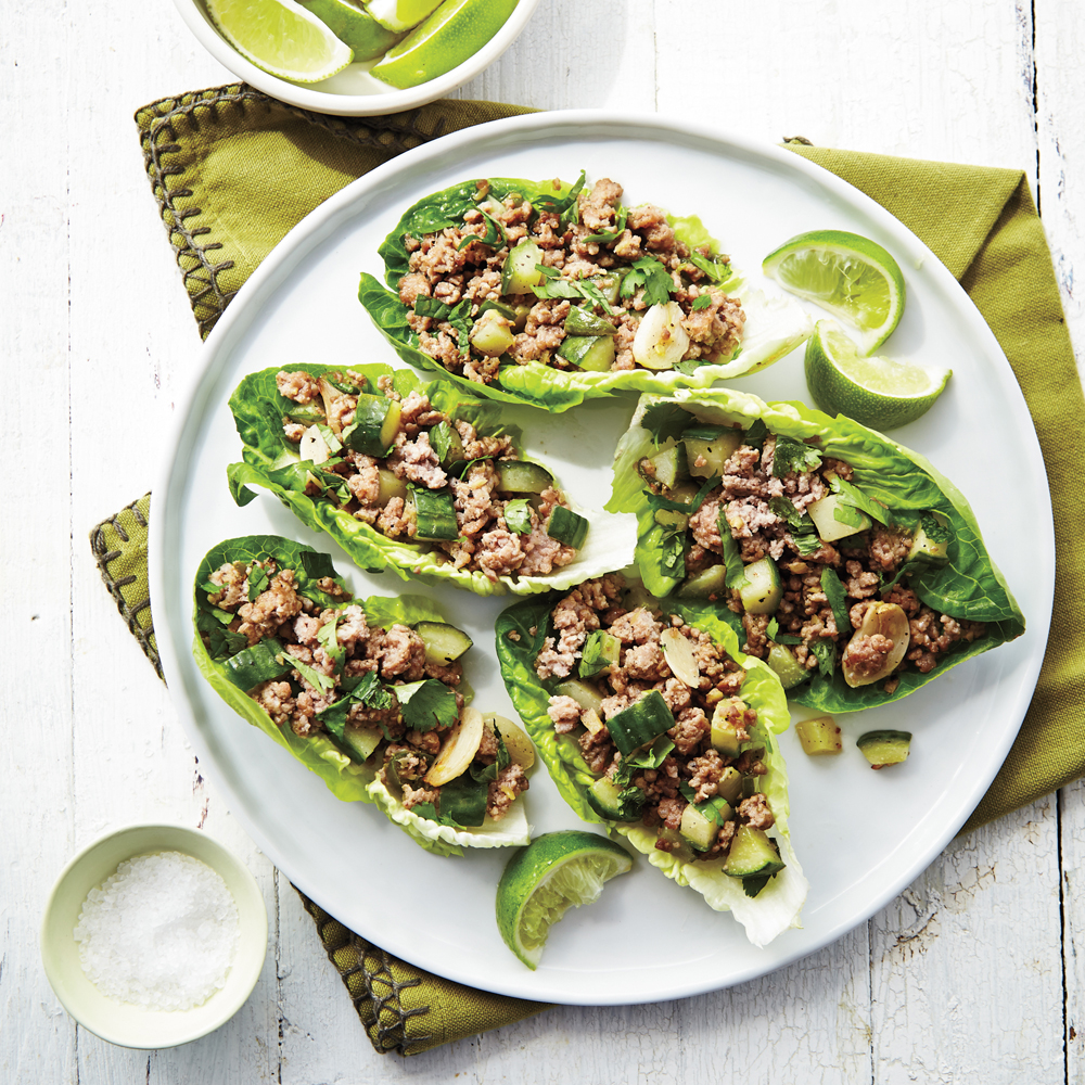 Asian Pork Lettuce Wraps Recipe | MyRecipes
