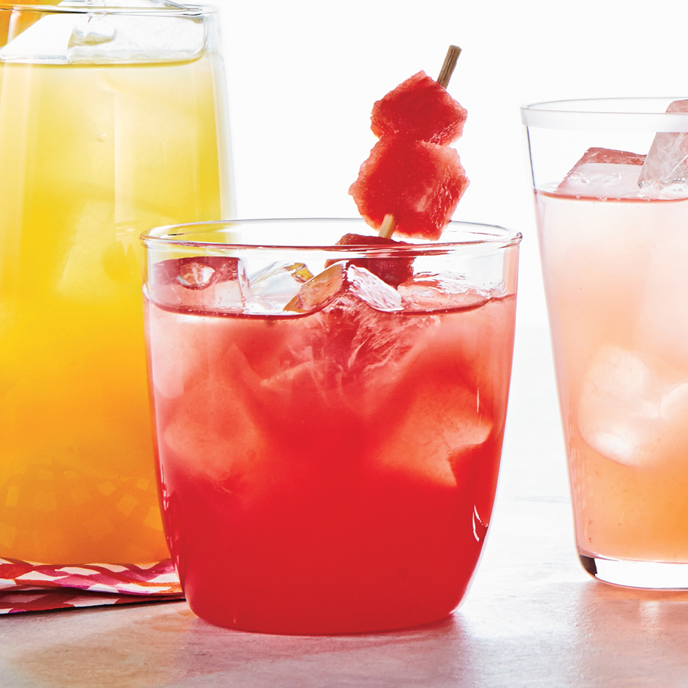 Watermelon-Lime Coolers