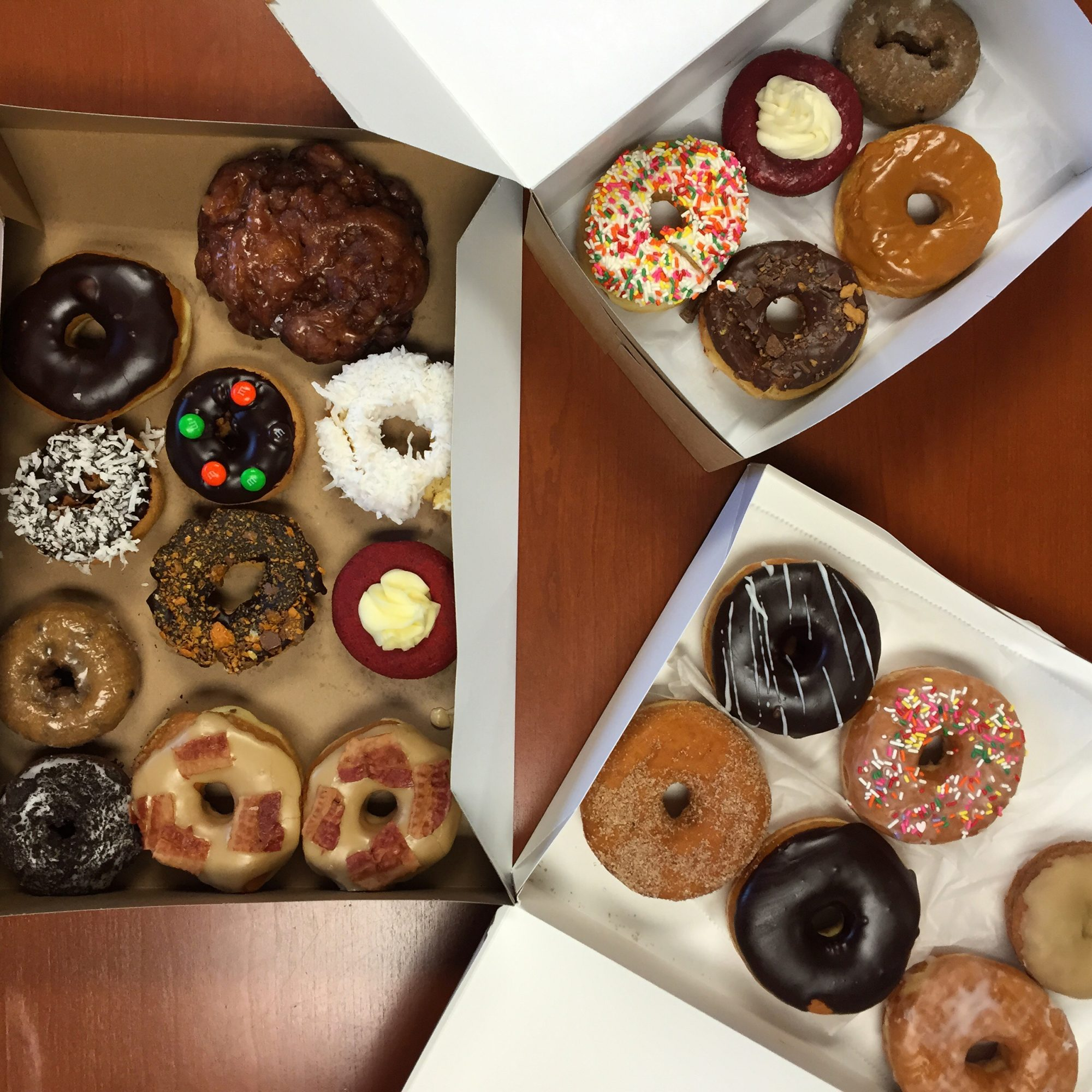 National Donut Day means donuts... Lots and LOTS of donuts.