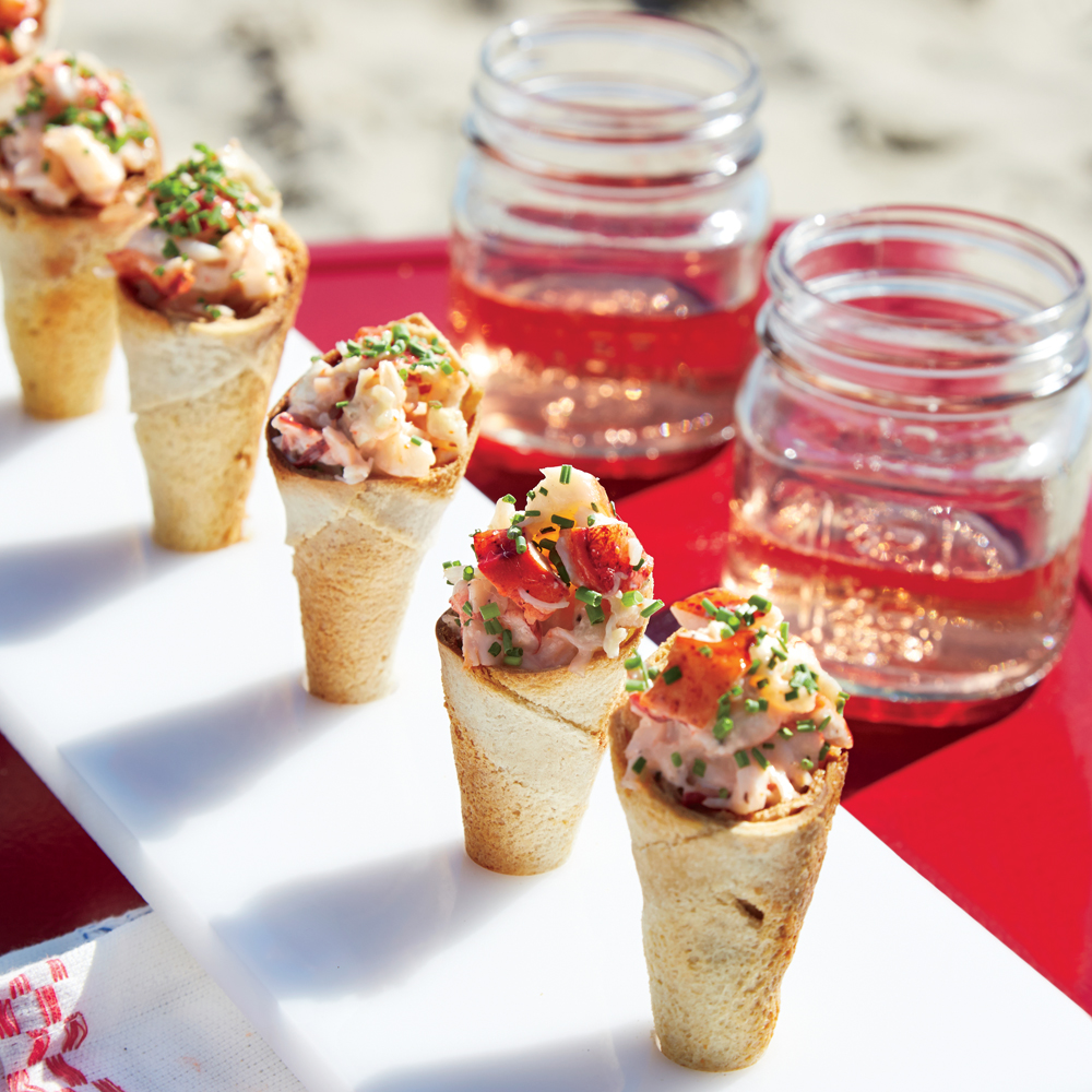 Lobster Roll Cones Recipe | MyRecipes