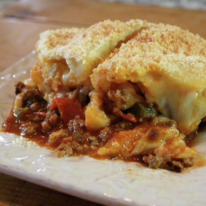Upside-Down Pizza Casserole from Gooseberry Patch