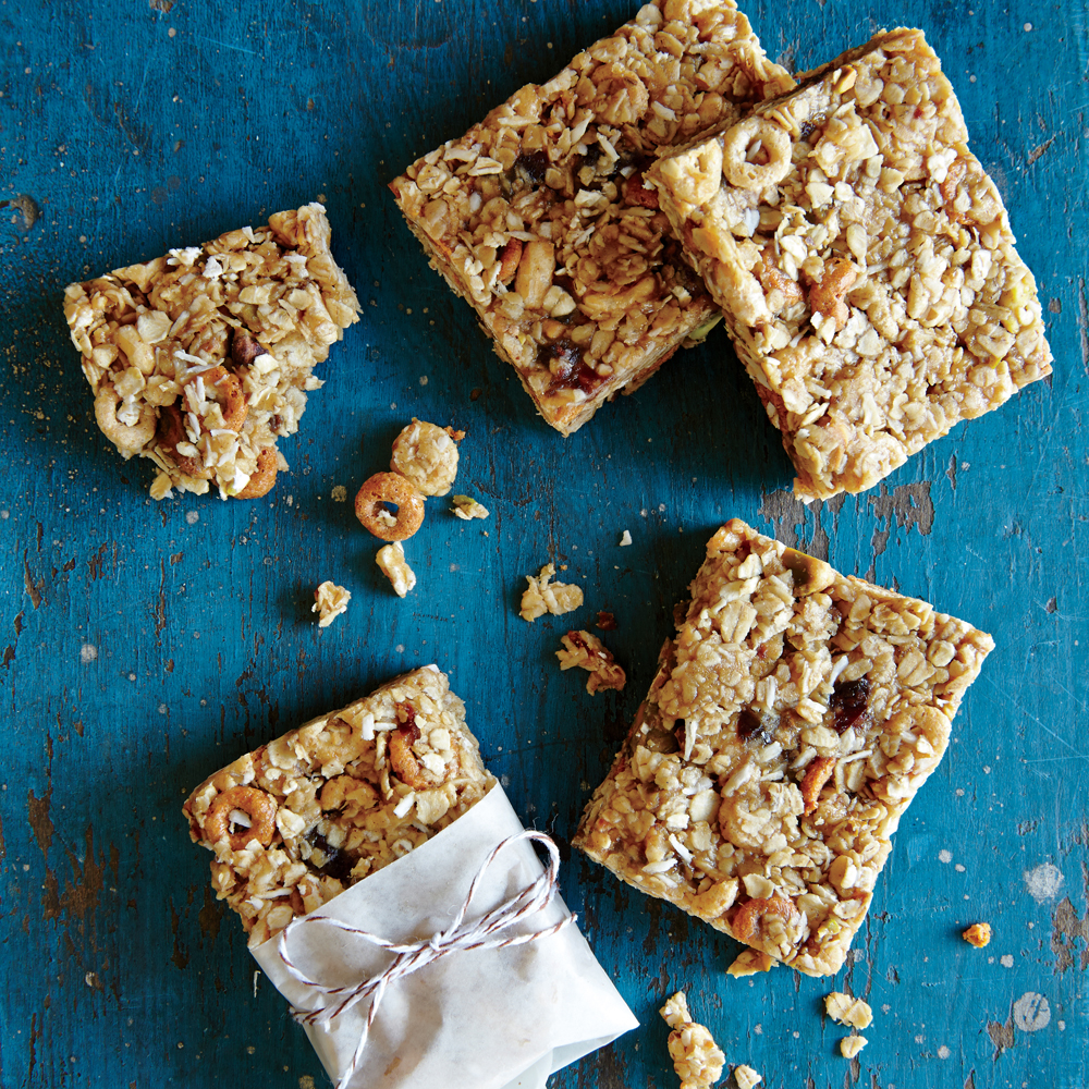No-Bake Chewy Granola Bars