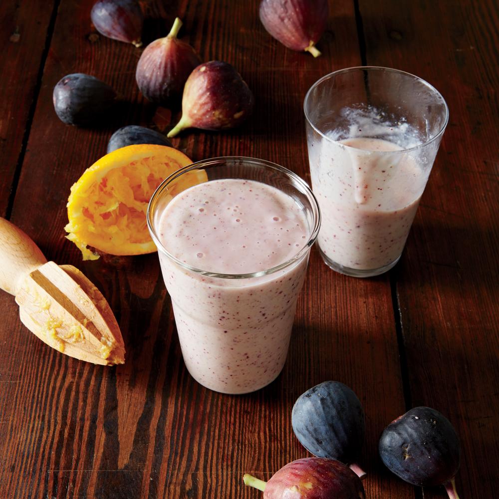 Sweet Fig Smoothies