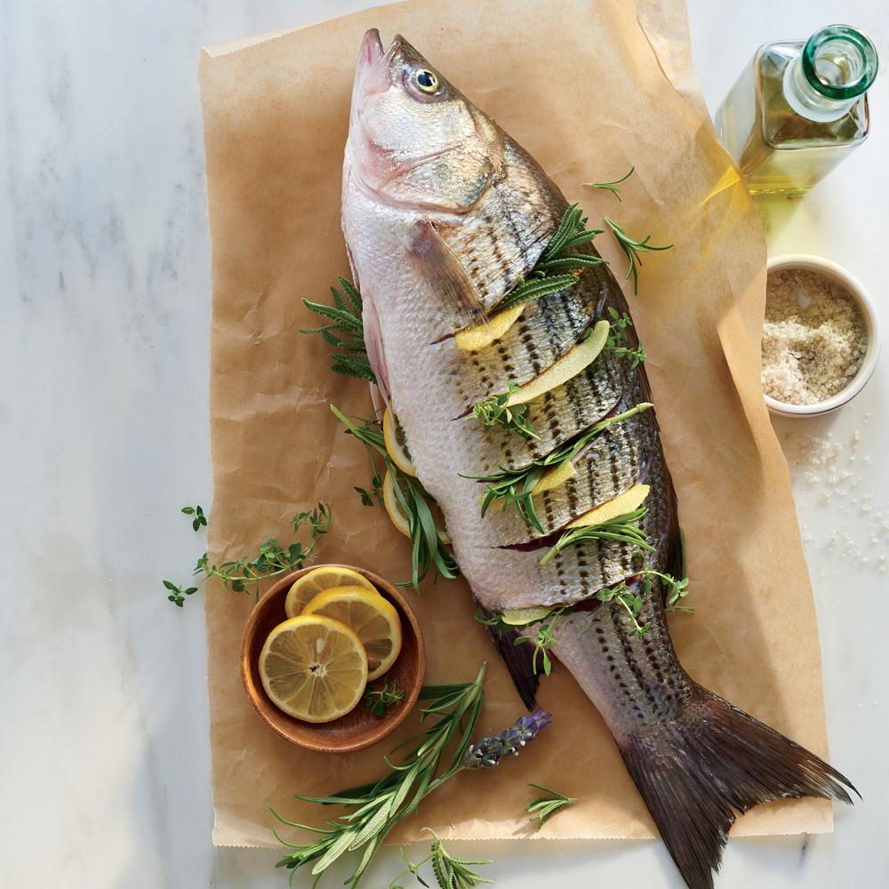 Whole Grilled Fish Recipe Myrecipes