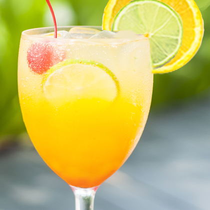 Zesty Punch Sipper Smoothie