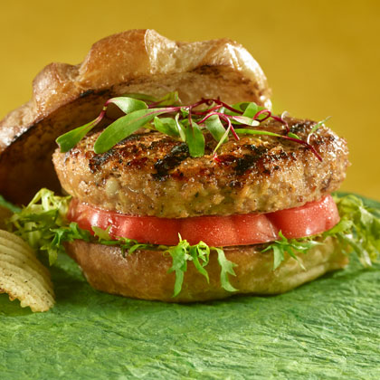 Quick and Easy Turkey Burgers