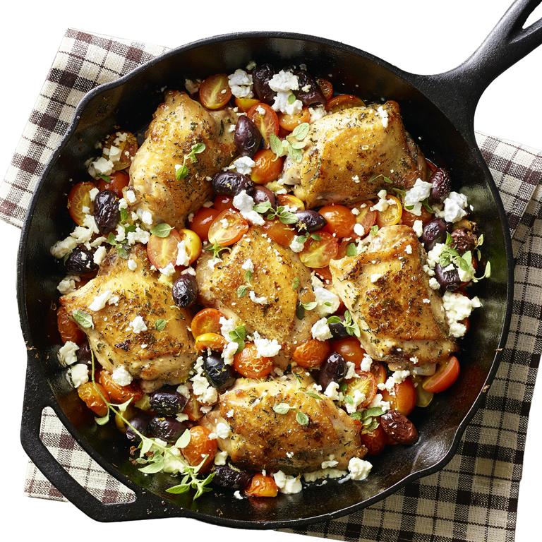 Greek Salad Chicken