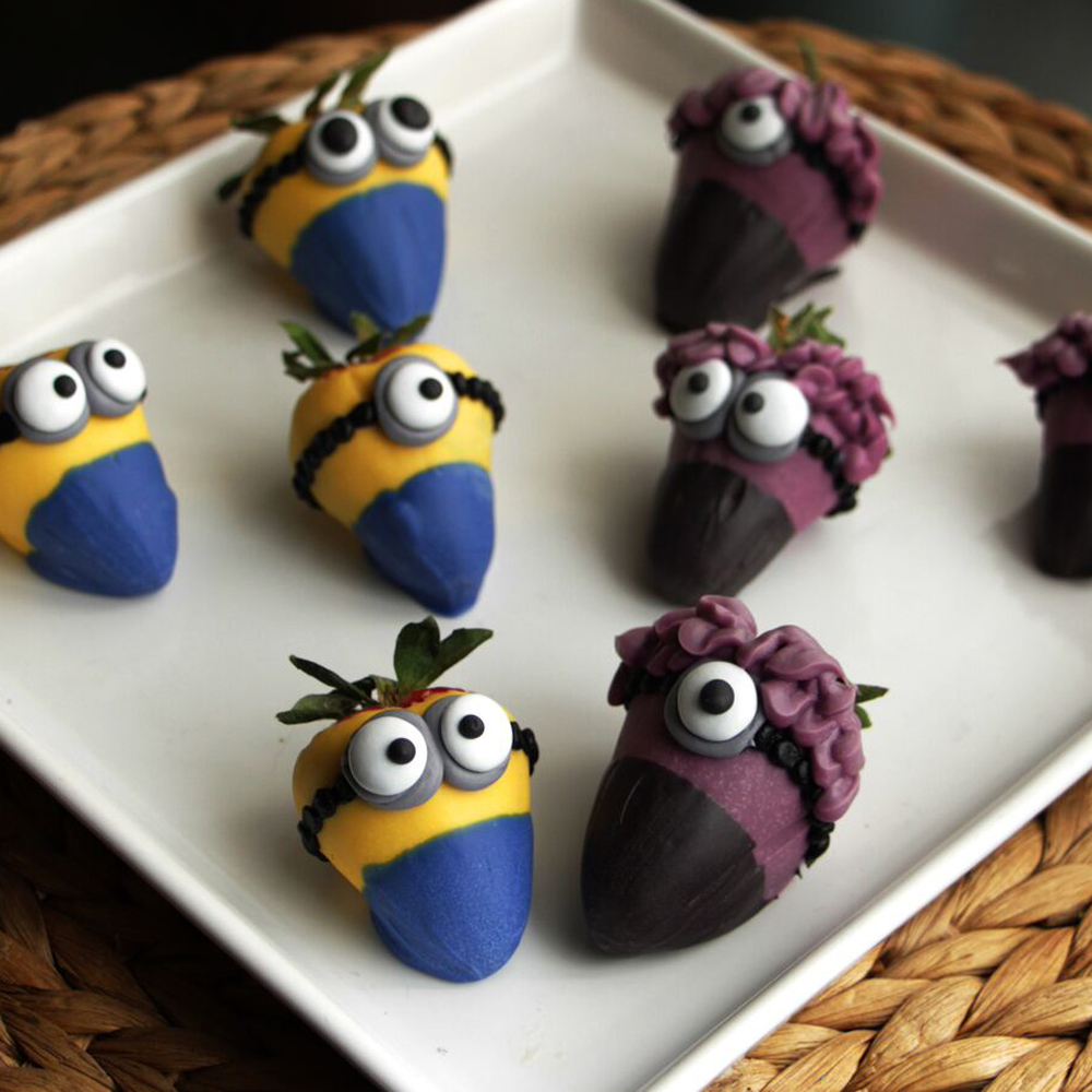 How to Make Minion Strawberries