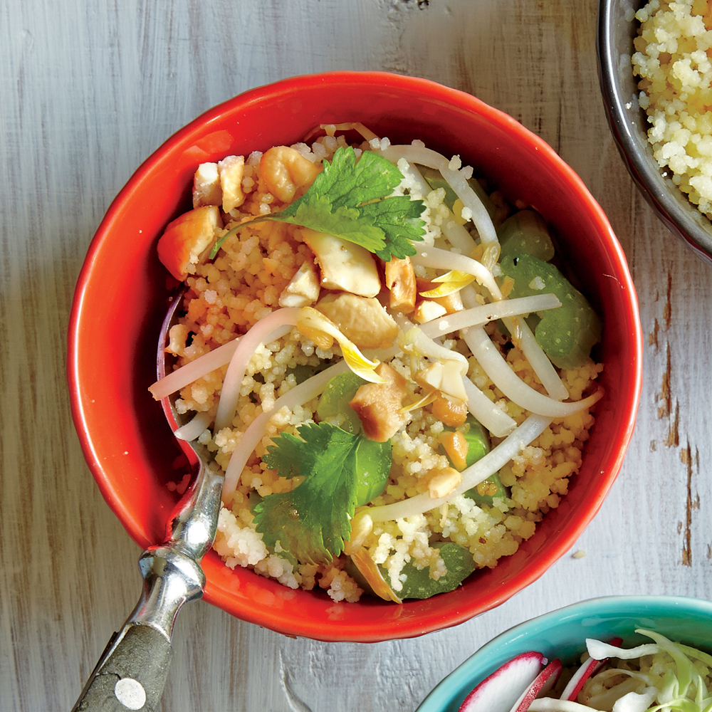 Celery and Cashew Couscous