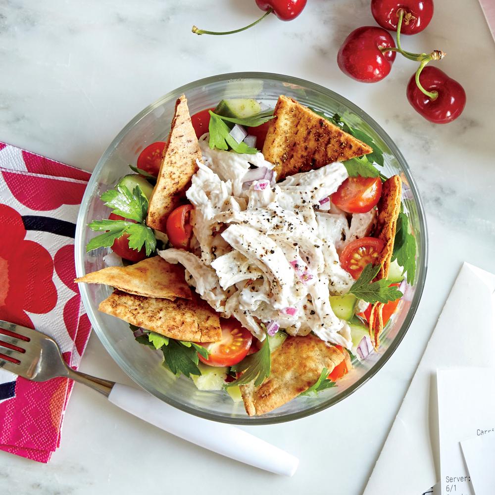Greek-Style Chicken Salad