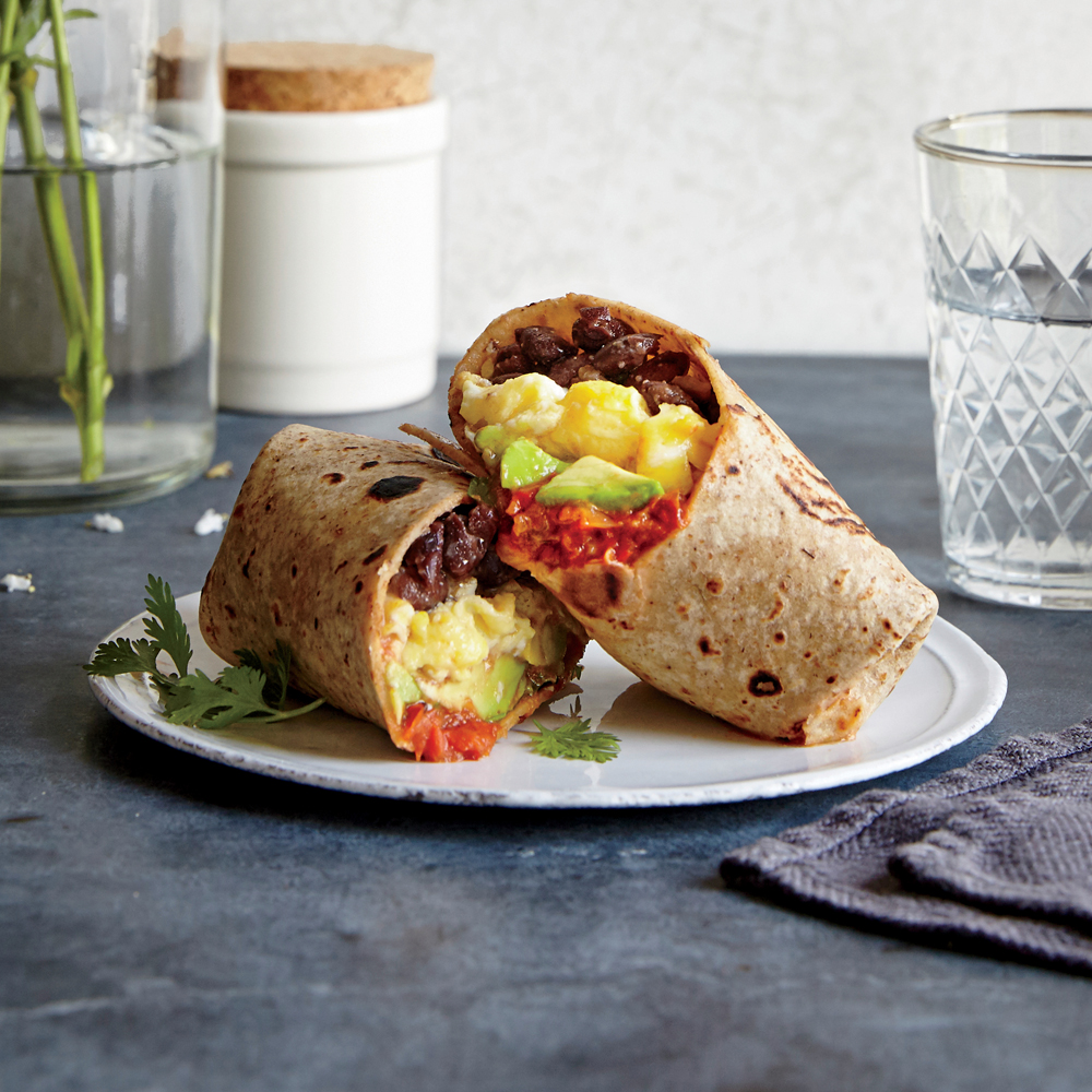 Huevos Rancheros Burritos