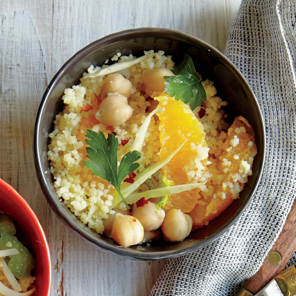 Orange and Fennel Couscous