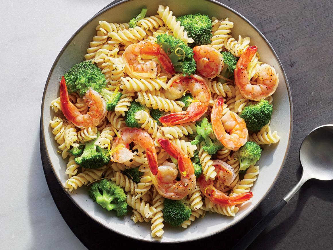 Shrimp and Broccoli Rotini