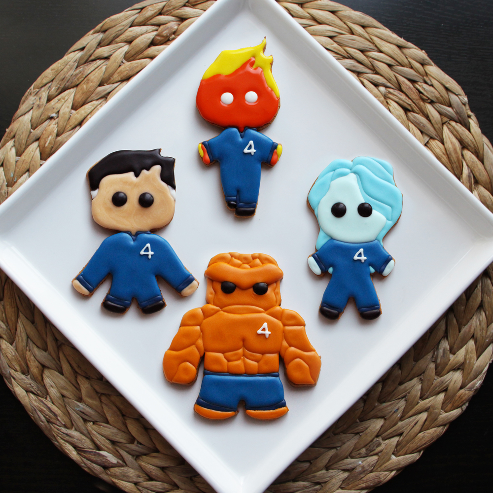 How to Make Fantastic 'Fantastic Four' Cookies