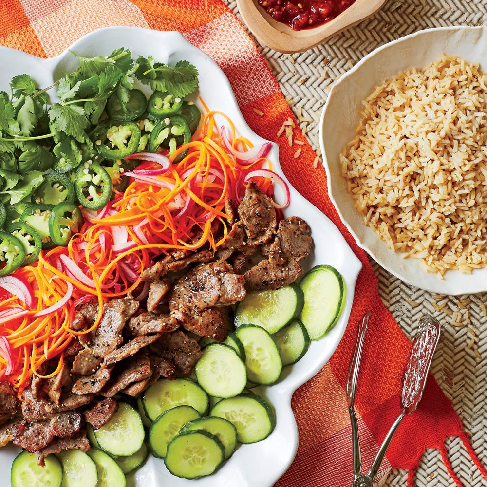 Bánh Mì Rice Salad