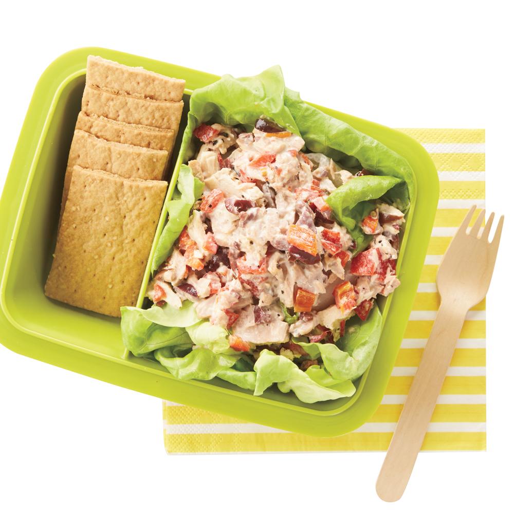 Mediterranean Tuna Salad Recipe | MyRecipes