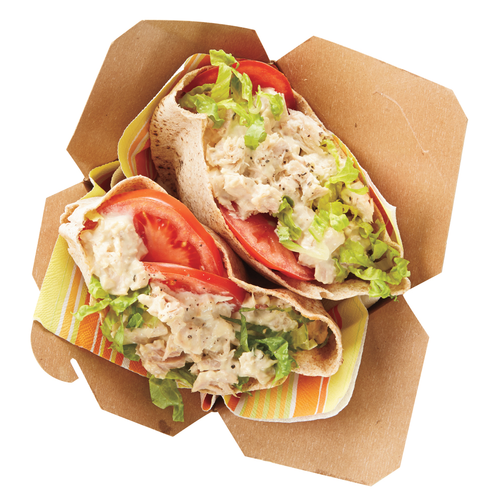 Tuna-Salad Pita