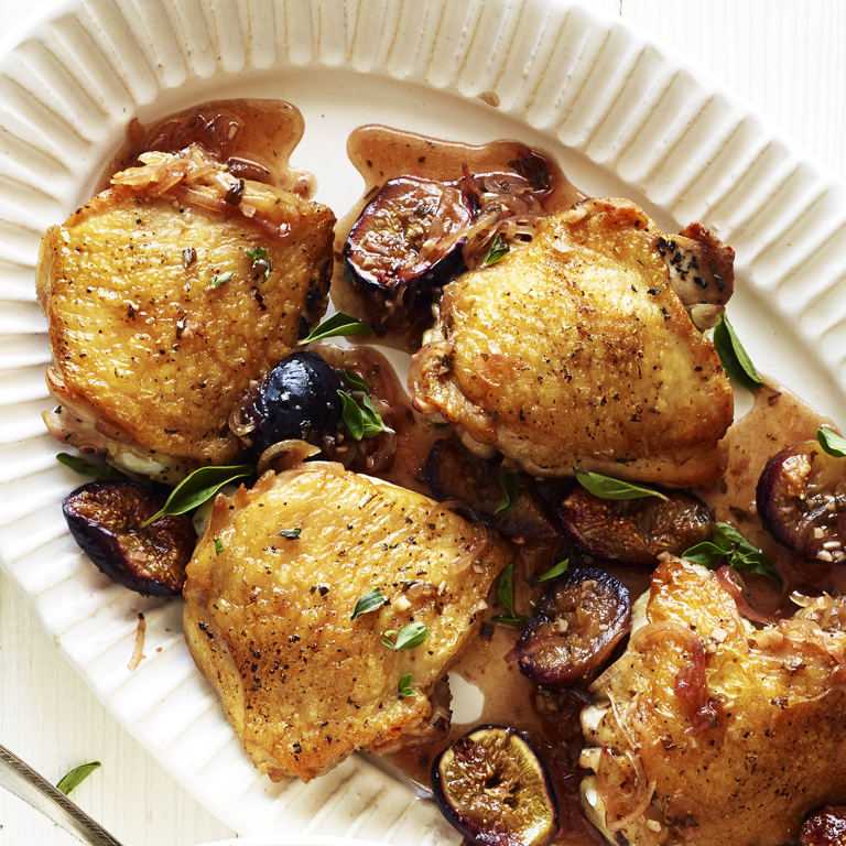 Chicken and Roasted Figs