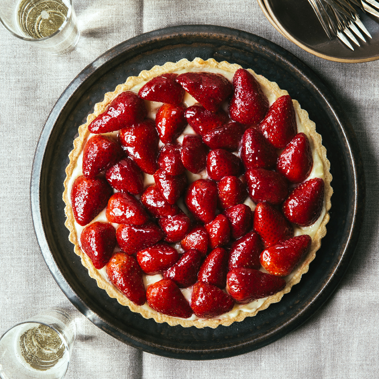 Sweet Summer Strawberry Tart Recipe Myrecipes