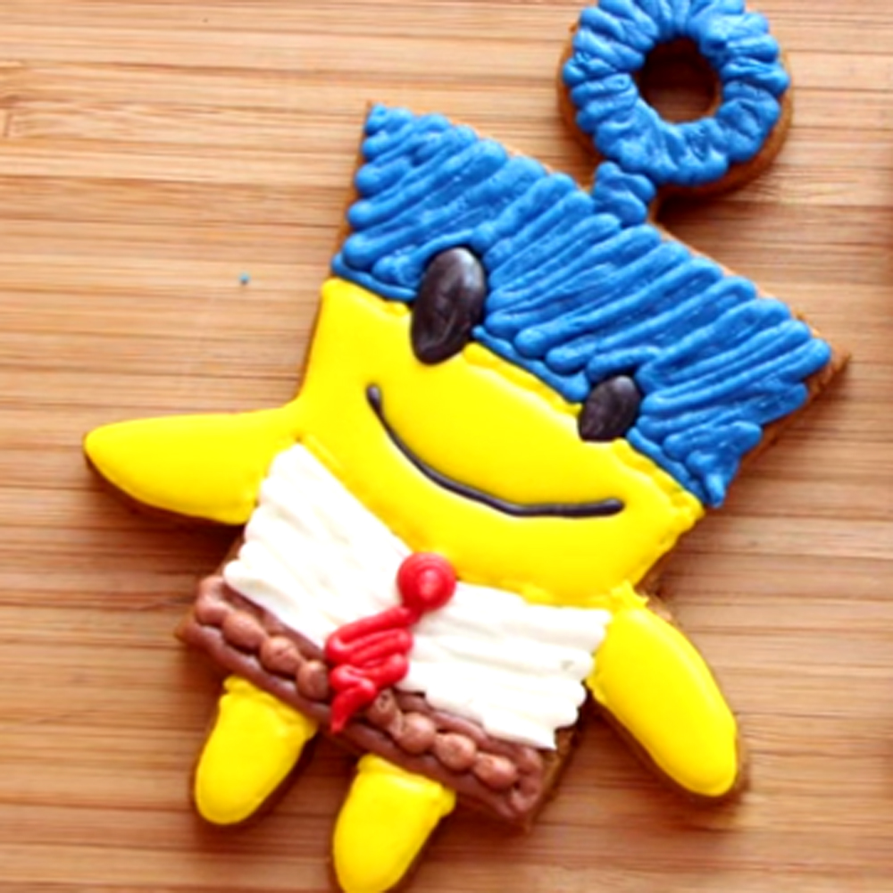 How to Make SpongeBob Cookies