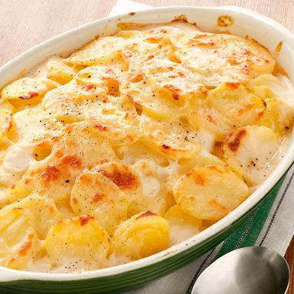 Au Gratin Potatoes (Scalloped Potatoes)