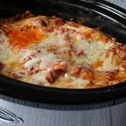 Awesome Crock Pot Lasagna