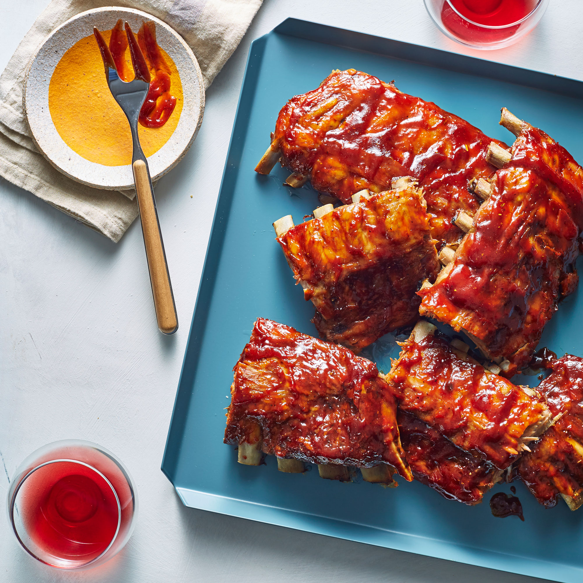 Crock Pot BBQ Ribs image