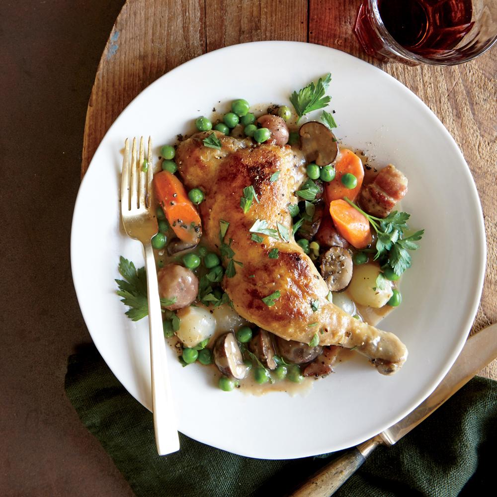 Chicken Jardinière