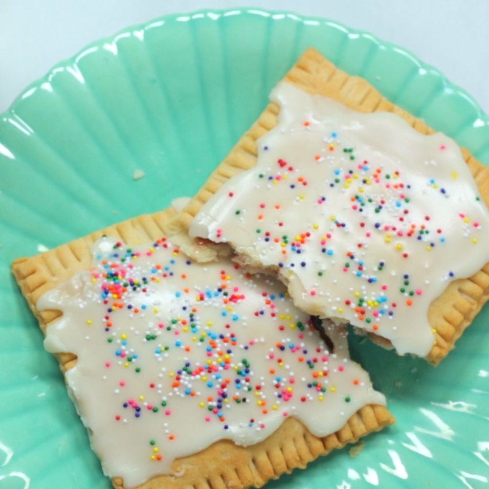 <p>Homemade Toaster Pastries</p>