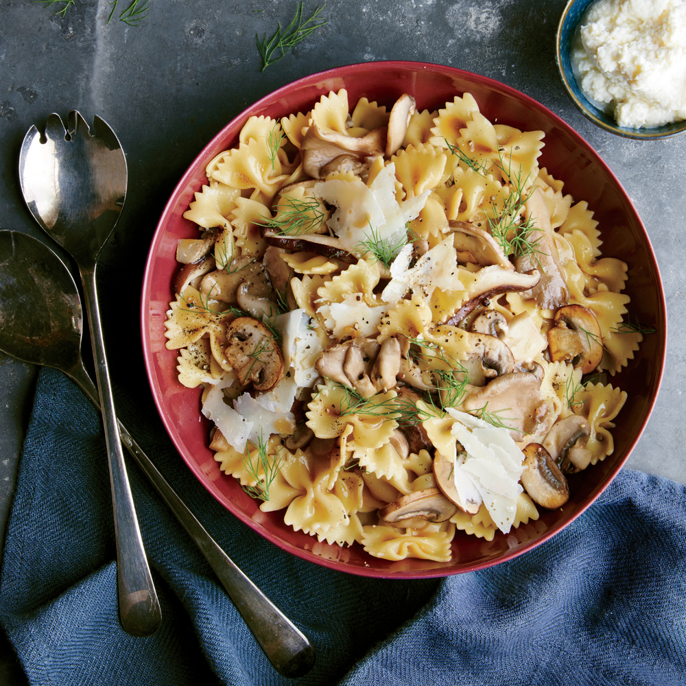 Wild Mushroom Farfalle