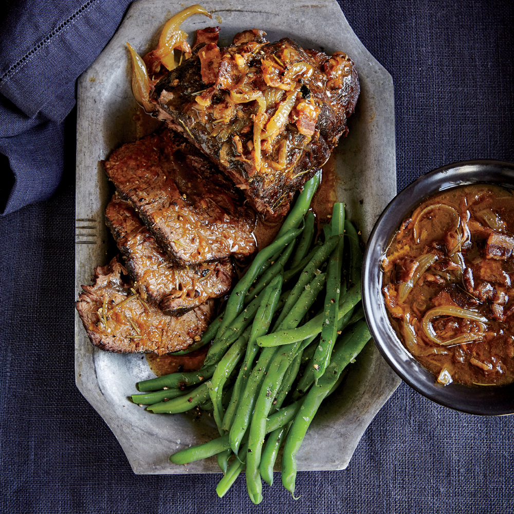 Beer-Braised Top Blade Roast