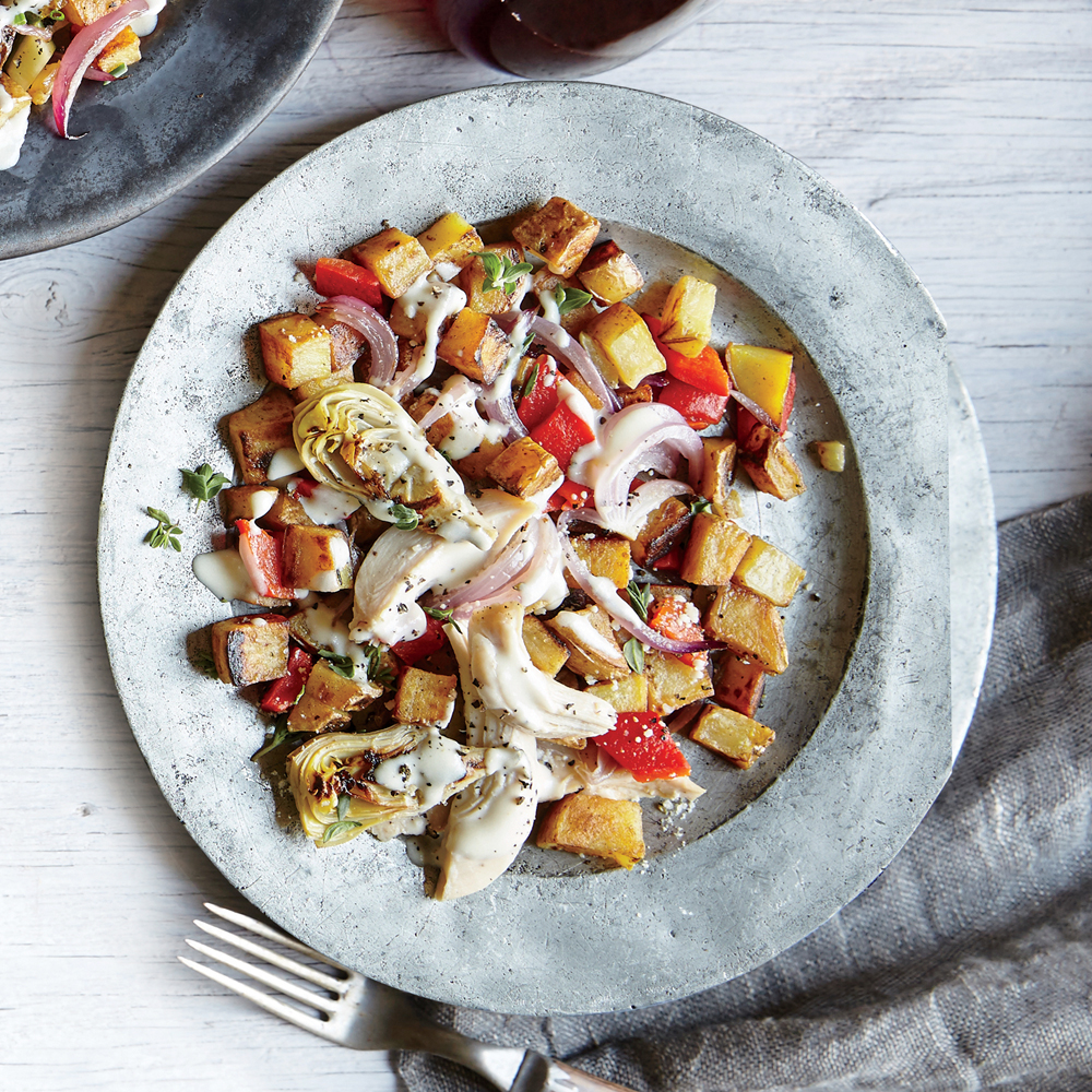 Chicken & Veggie Hash