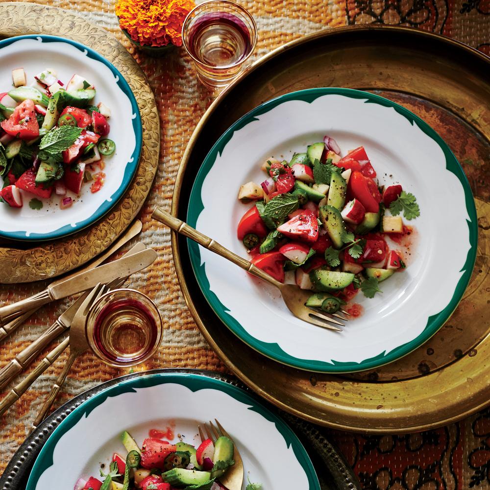 Indian Chopped Salad Recipe