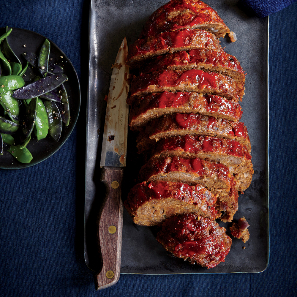 Sirloin and Parmesan Meat Loaf