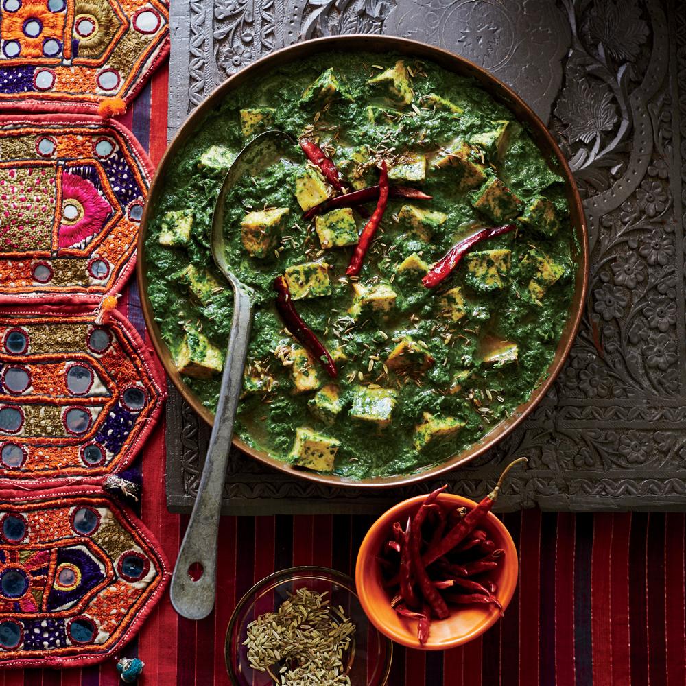 Vegetarian meals under 300 calories myrecipes tofu saag forumfinder Gallery