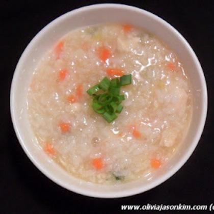 Korean Dak Juk (Chicken Porridge)