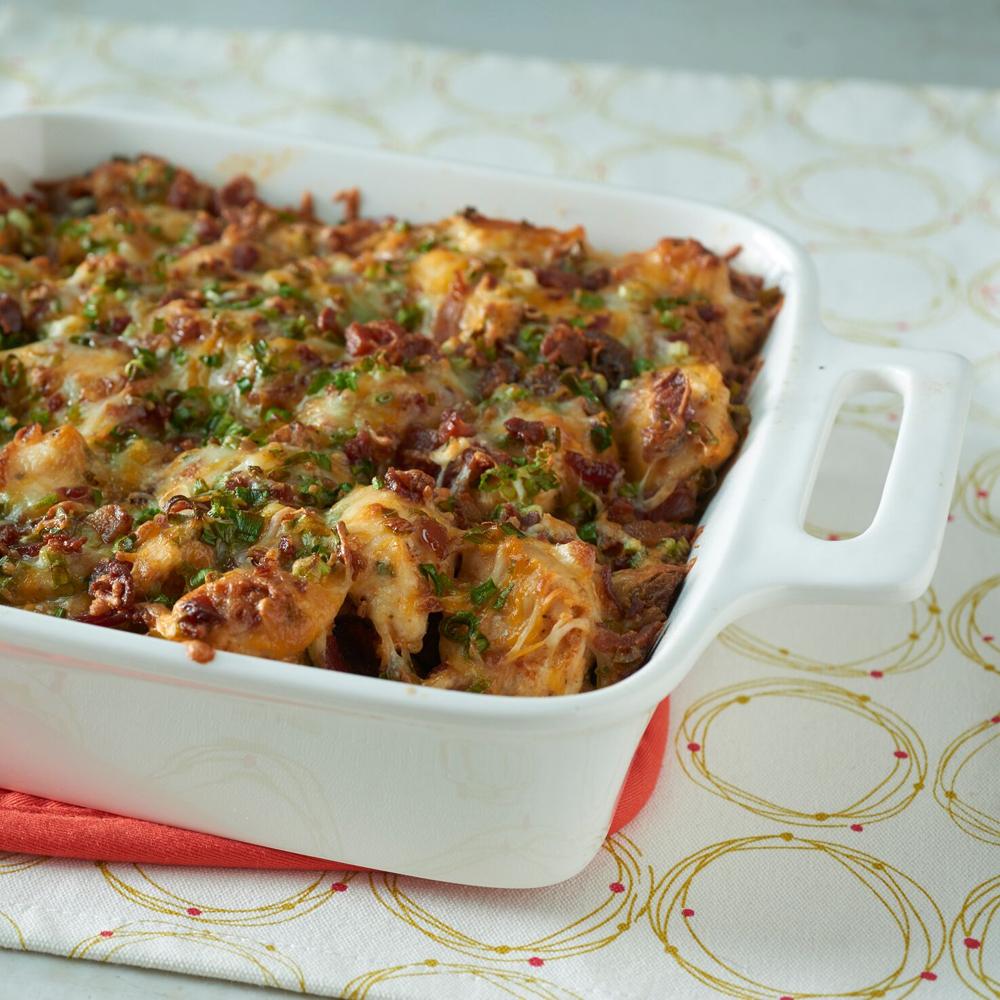 Loaded Baked Potato \u0026 Chicken Casserole