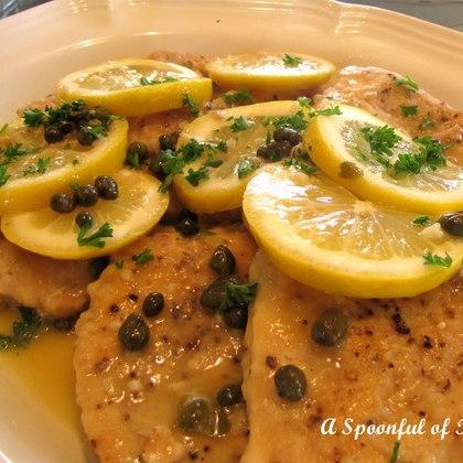 Mahi-mahi with Lemon-Caper Sauce