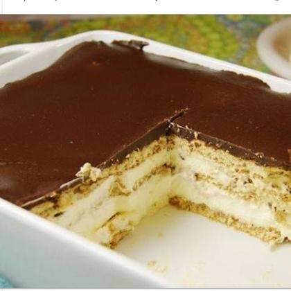 No bake Chocolate Eclair Cake Recipe | MyRecipes
